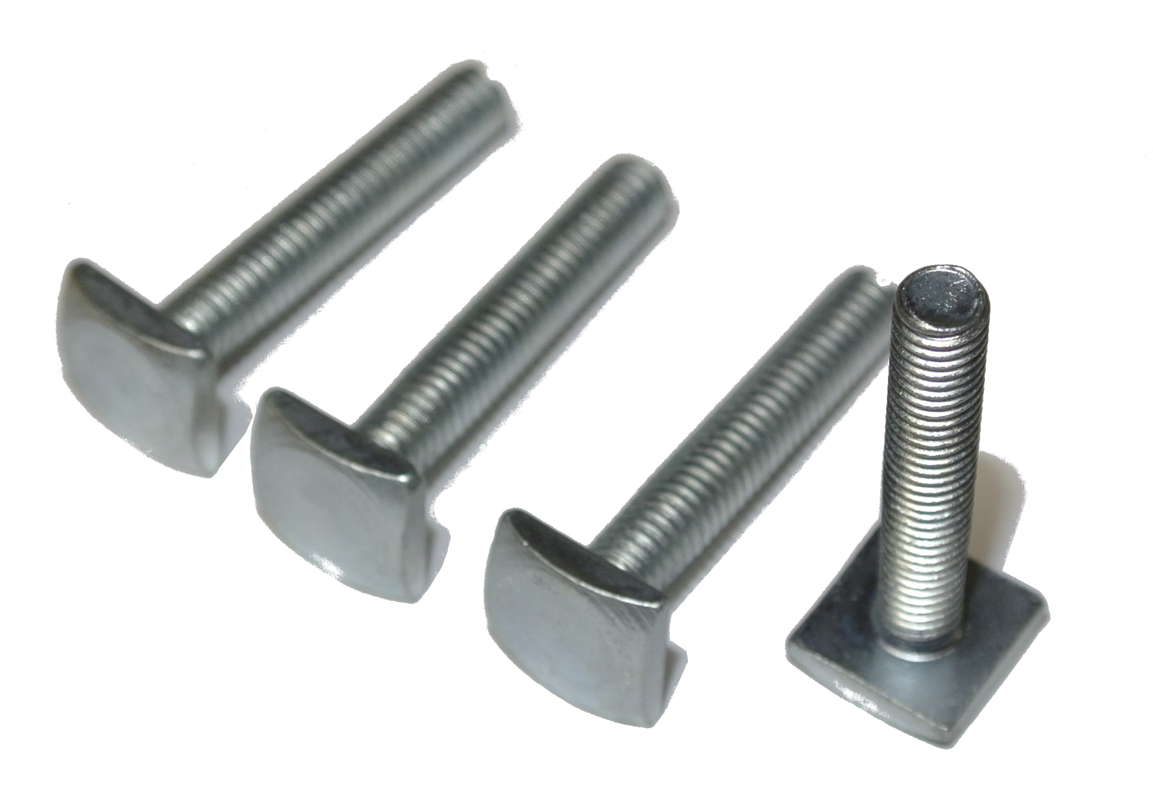set of 4 slot nut t nut adapter m6x35 mm 12x12 mm for